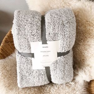 Other - VERY soft sherpa fleece blanket throw
